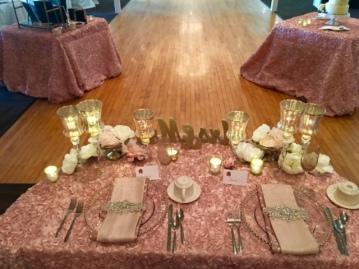 Blushed Wedding