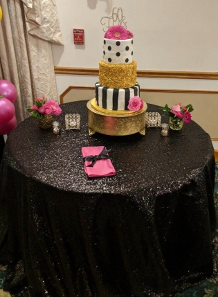 60th Kate Spade Themed Bday Party