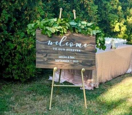 Beautiful Rustic/Glam Wedding